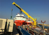 1t telescopic Marine hydraulic crane with ABS Class and advanced components