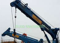 Fixed Telescoping Boom Crane Customized 7T 10M Simple Design Easy Maintenance