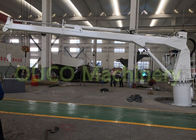 2t Marine telescopic hydraulic crane with international brand components