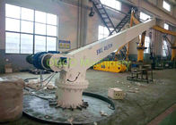 Marine Stiff Boom Crane , Electrical Dinghy Davit Crane Running Smoothly
