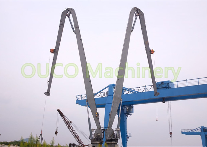 Ship Transportation Solution Knuckle Boom Crane For 28.5m Max Lifting Height